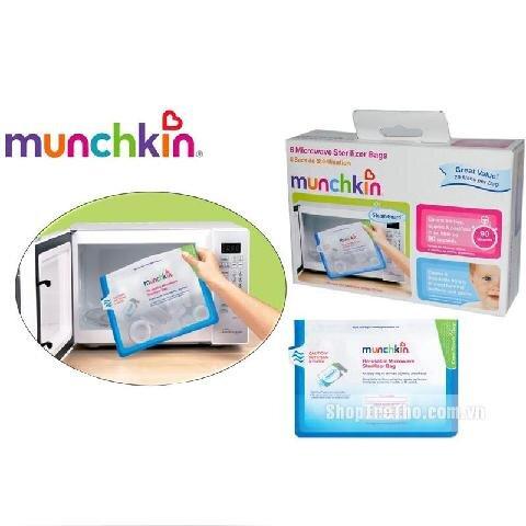 Túi tiệt trùng bình sữa trong lò vi sóng Munchkin
