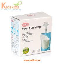 Túi trữ sữa mẹ trực tiếp từ máy hút sữa Unimom UM870282