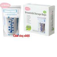 Túi trữ sữa Unimom UM870152 - cảm ứng nhiệt không có BPA 210ml (40 túi)