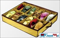 Túi vải đựng giày 12 ngăn