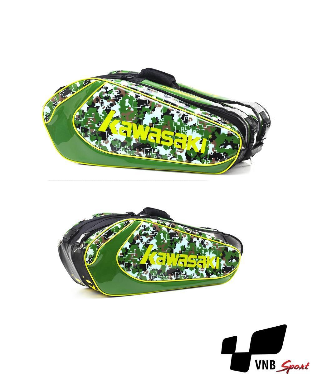 Túi vợt Cầu Lông Kawasaki 8637