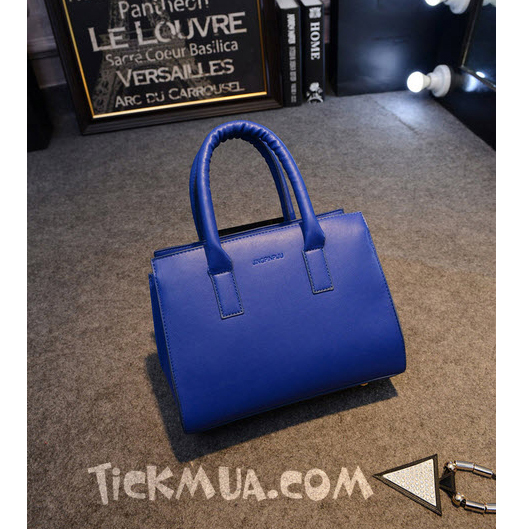 Túi xách cao cấp kiểu dáng thanh lịch (Màu xanh)_T1507