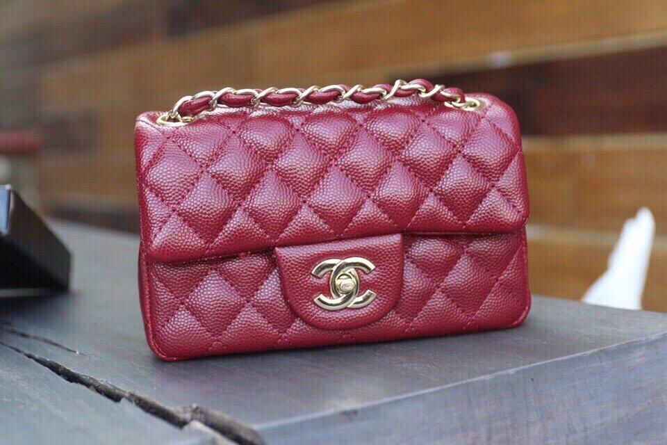 Túi xách Chanel Classic Da Hạt