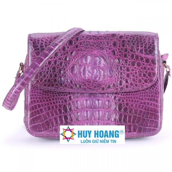 Túi xách da cá sấu Huy Hoàng HH6210