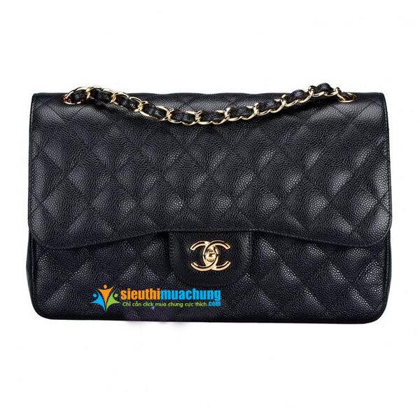 Túi xách nữ Chanel 2.55 - CN1 dây da xích thời trang