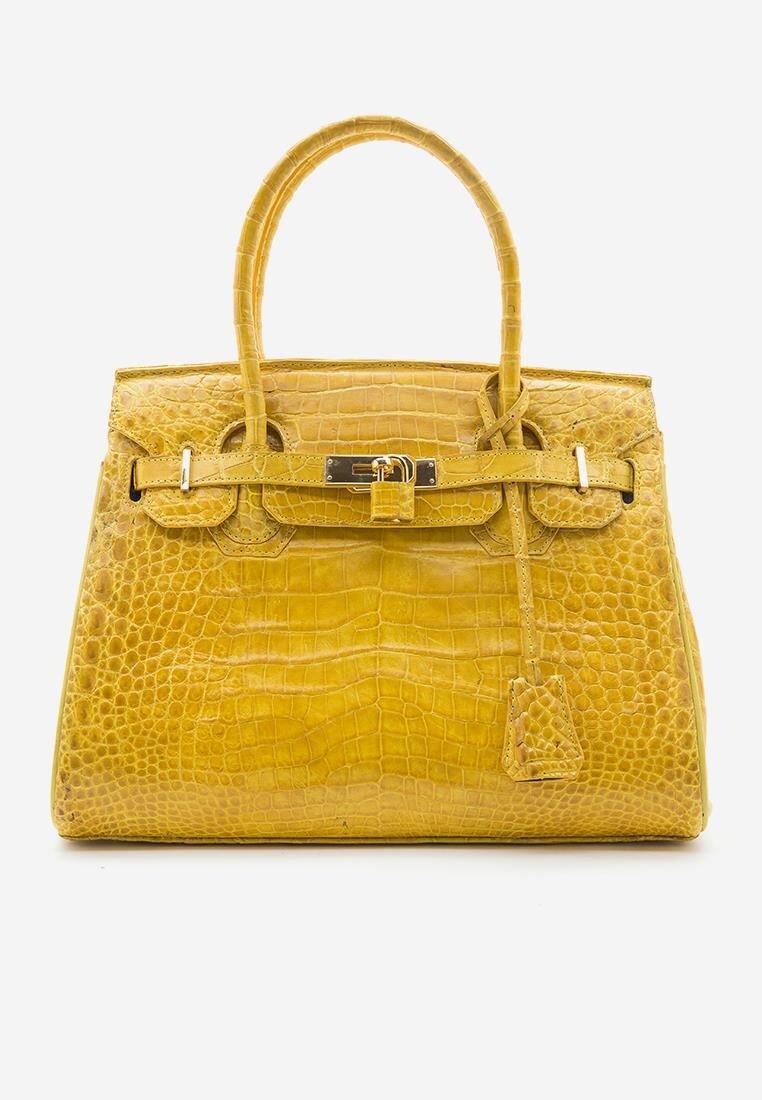 Túi xách nữ da cá sấu Huy Hoàng HH6242