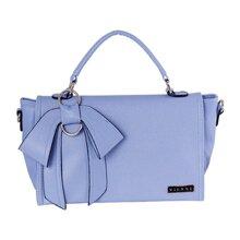 Túi xách tay Vienne thời trang màu xanh nhạt-VL2321