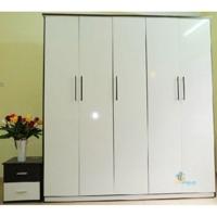 Tủ quần áo nhựa Đài Loan TA25 - 5 buồng