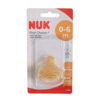 Ty thay Nuk cổ rộng cao su siêu mềm size L 701240