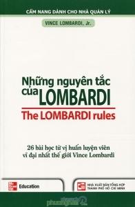 Những nguyên tắc của Lombardi - Jr. Vince Lombardi