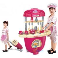 Bộ đồ chơi nấu ăn có va li kéo BBT Global 008-27