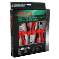 Bộ kìm điện 3 chi tiết cách điện Toptul GAAE0301 - 1000V