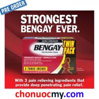 Dầu xoa bóp làm giảm cơn đau nhức Ultra Strength BENGAY Cream 226g
