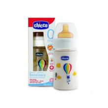 Bình sữa trẻ em bằng nhựa núm cao su Chicco 150ml
