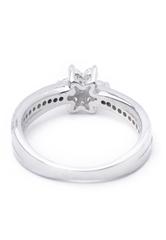 Nhẫn bạc nữ Bạc Ngọc Tuấn E03NHU000011