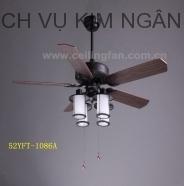 Quạt trần có đèn Mountain Air 52YFT-1086A
