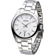 Đồng hồ nam dây thép không gỉ Seiko Quartz SGEG59P1