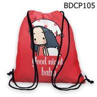 Túi rút Cô bé goodnight baby - BDCP105