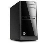 Máy tính để bàn HP 110-021L (H5Y97AA) - Intel Pentium G2030T 2.6GHz, 2GB RAM DDR3, 500GB HDD, DVDRW, Intel HD Graphics