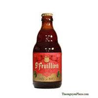 Bia St. Feuillien Noel chai 330ml (9%)