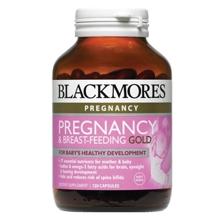 Vitamin cho bà bầu Blackmores Pregnancy Gold 120 viên