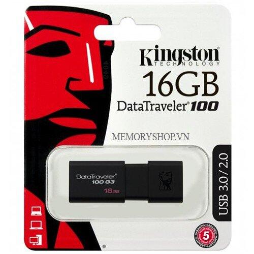 USB Kingston DT100G3 (DT100 G3) 16GB - USB 3.0