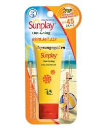 Kem chống nắng dưỡng da Sunplay Out Going SPF 50+, PA+++ 30g