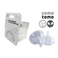 Bộ đôi núm vú bình sữa Comotomo (số 1,2,3, y-cut)