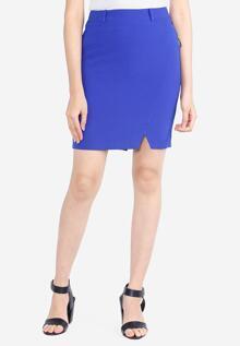 Chân váy ôm xanh coban The One Fashion VDS2051COB2