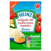 Bột ăn dặm Heinz 4+ Ngũ cốc và rau củ hỗn hợp