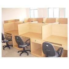 Vách ngăn gỗ văn phòng Hòa Phát VNG01