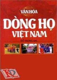 Văn Hóa Dòng Họ Việt Nam
