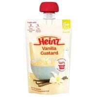 Váng sữa Heinz vị vani - 120g (dành cho trẻ trên 6 tháng tuổi)