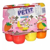 Váng sữa hoa quả Bauer Petit (6 hộp)
