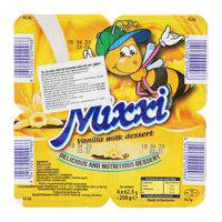 Váng sữa Mixxi vani vỉ 4 hộp x 62,5g
