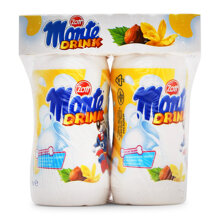 Váng sữa uống hương vani Zott Monte lốc 4 chai x 95ml