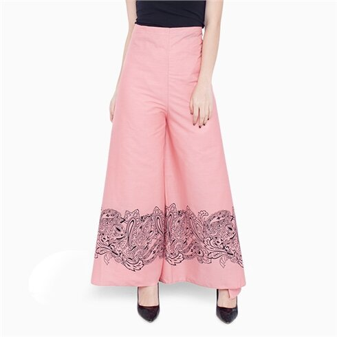 Váy chống nắng dạng quần họa tiết