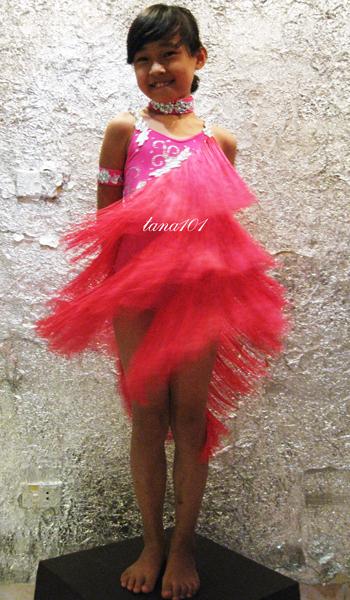 Váy Latin Bé Gái TE108