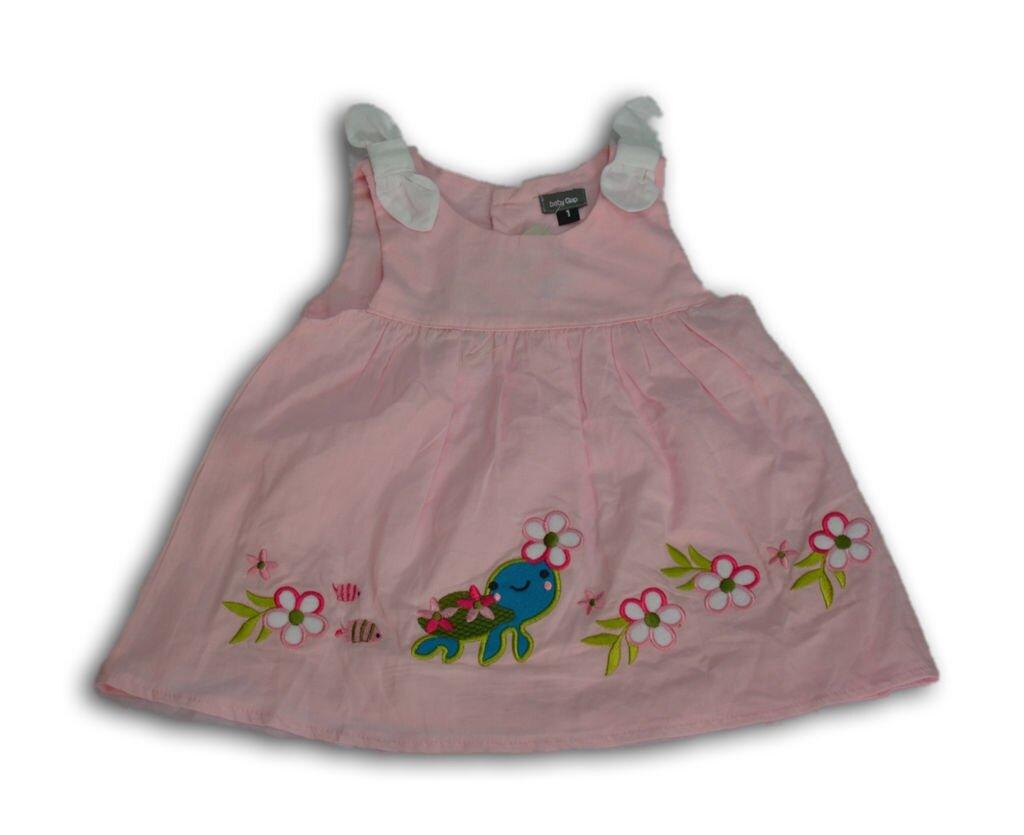 Váy màu trơn thêu hoa