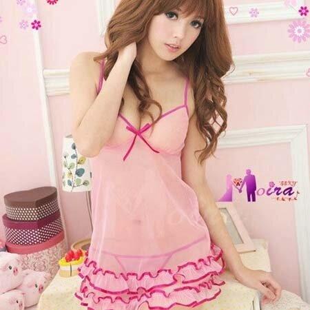 Váy ngủ siêu mỏng ren thun gợi cảm - MS264 ( GS69 )