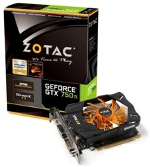 VGA ZOTAC GeForce GTX 750 Ti OC 2GB DDR5 128bit