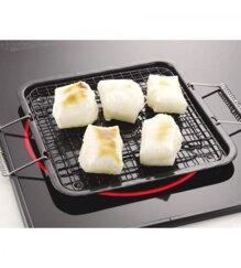 Vỉ nướng 20 x 22cm (dùng được cho bếp từ) Japan