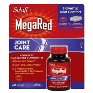 Viên bổ khớp xương Schiff MegaRed Joint Care 60 viên