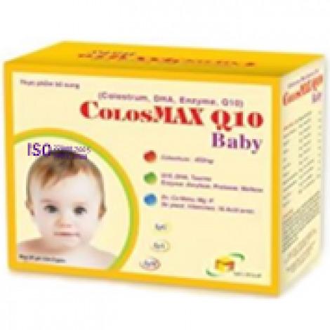 Viên bổ sung sữa non và các vi chất dinh dưỡng cho trẻ nhỏ Colosmax Q10 baby