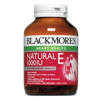 Viên bổ sung Vitamin E Blackmores Natural Vitamin E 1000IU 100 viên