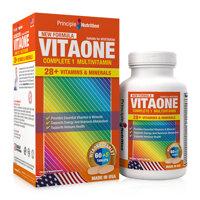 Viên bổ sung Vitamin và khoáng chất thiết yếu Principle Nutrition Vitaone Complete 1 Multivitamin 65 viên