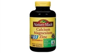 Viên Calcium With Vitamin D Nature Made 300 Viên Mỹ