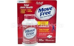 Viên chống lão hóa và điều trị xương khớp Move Free advanced Schiff – 170 viên
