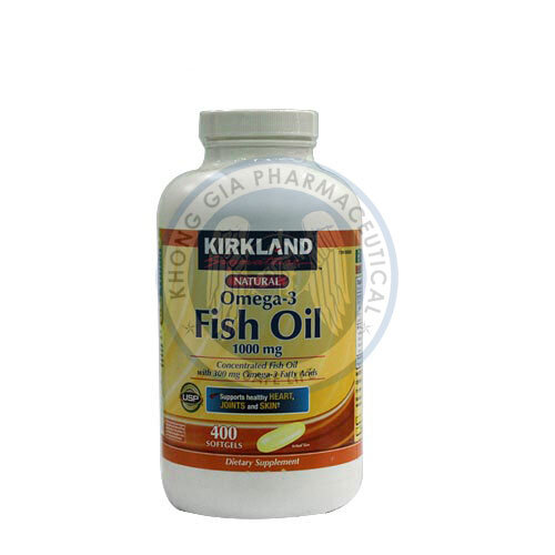 Viên Dầu Cá Omega 3 Fish Oil 1000mg