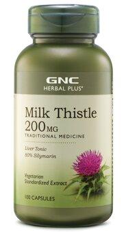 Viên giải độc gan GNC Milk Thistle 200mg 100 viên